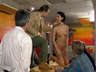 Ukrain Amateurs : Office Live Sex Show